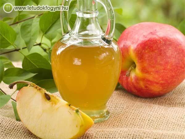 súlycsökkentő almaecet