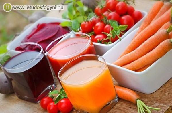Zöldséglevek: egészségesek és finomak