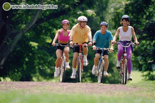 A biciklizés is remek zsírégető mozgásforma