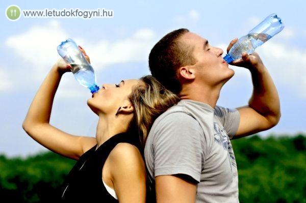 A megfelelő mennyiségű folyadék elengedhetetlen az egészséghez
