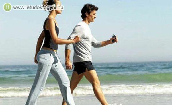 A séta jót tesz az egészségnek és a fogyókúrát is segíti