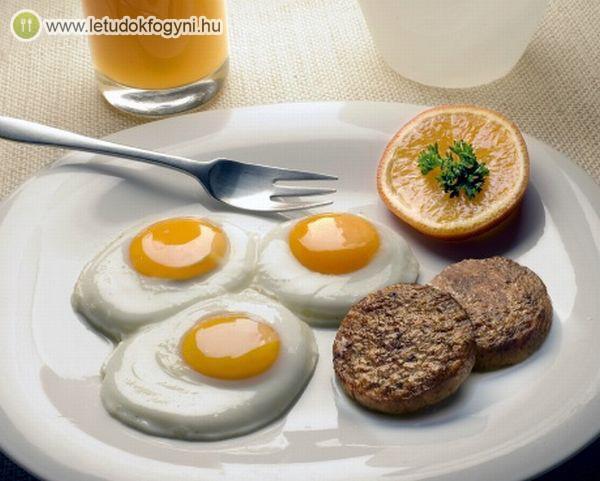 A tojás teltségérzetet biztosít, így később leszünk éhesek