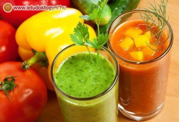 A zöldséglevek segítenek csökkenteni az étvágyat